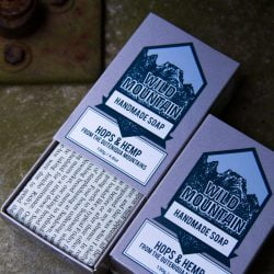Southern Promise hops from the Outeniqua mountains in the Western Cape is infused in cold-pressed Hempseed oil and ground up to make this soap extra awesome.