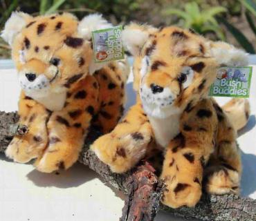 Cheetah Large Sitting - Plush Toy