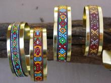 Copper & Leather Bracelets