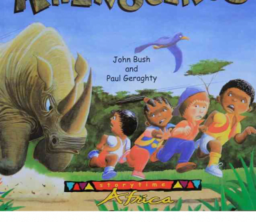 The Cross With Us Rhinoceros - Childrens Book