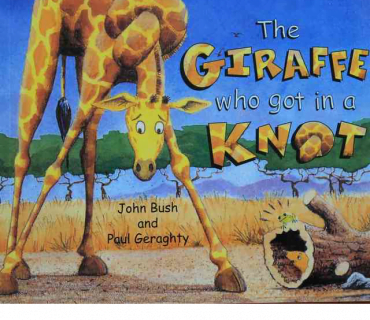 The Giraffe Who Got In A Knot - Childrens Book