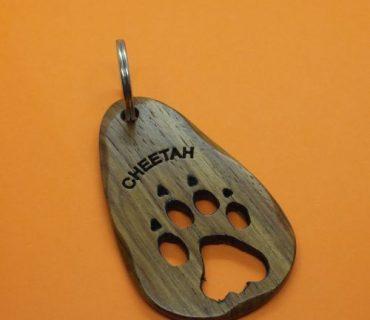 Animal Spoor - Wooden Keyrings
