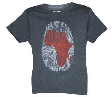 Africa Thumb Print - Unisex Kids T-Shirt