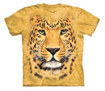 Leopard - Teen Unisex Dyed T-Shirt