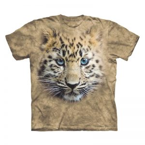 African Meraki - African Gifts - Unisex Kids Leopard Cub T-Shirt