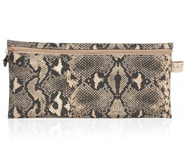 Snake Skin Pencil Bag