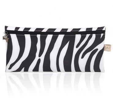 Pencil Case - Zebra Skin Print