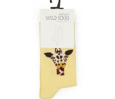 Wild Socks - Giraffe Children's