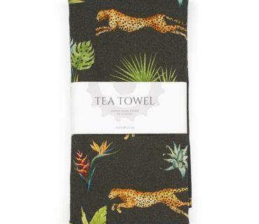 Tea Towel - Cheetah & Springbok