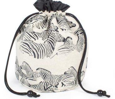 Bucket Bag - Zebra
