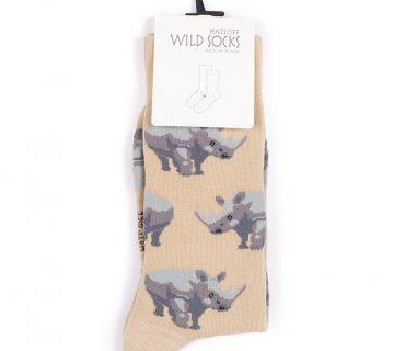 Wild Socks - Rhino Beige