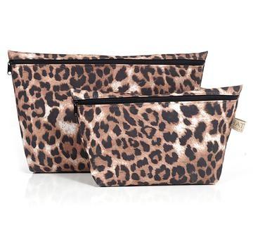 Toiletry Bag Set - Leopard Print