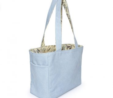 Bag Reversible Tote Blue