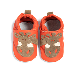 Babies Leather shoes Giraffe