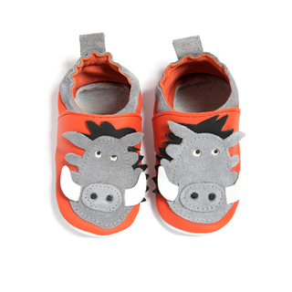 Childrn's Leather Shoes warthog
