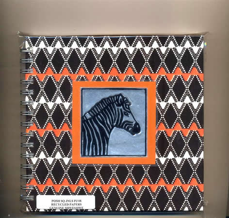 Journal Schweshwe Zebra