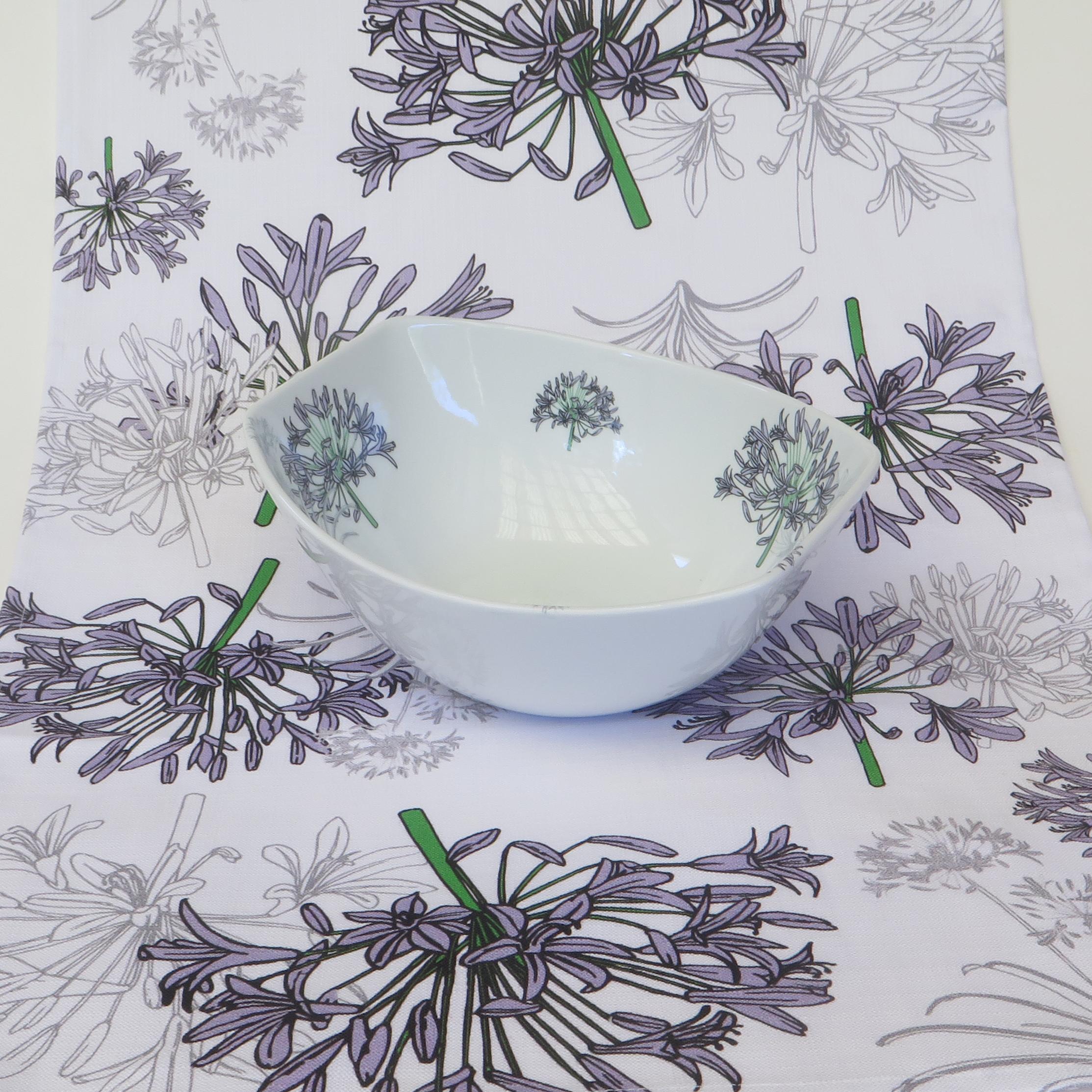 Agapanthus Tea Towel