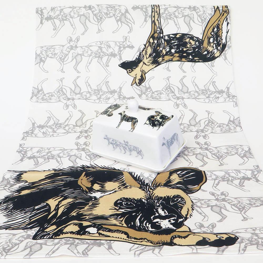 Wild Dog Tea Towel